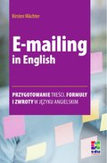 E-mailing in English - ebook