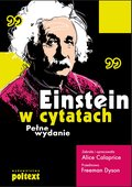 Einstein w cytatach - ebook